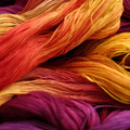 dyeing and washing